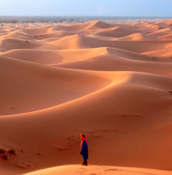 Roepende in de woestijn