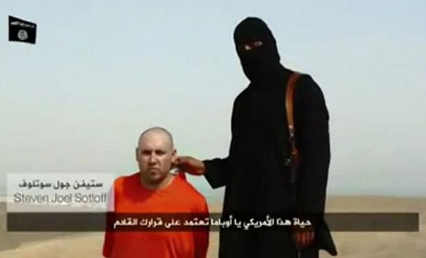 Onthoofding Amerikaan Steven Sotloff door ISIS is nep en duidelijke propaganda