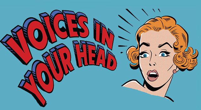 Het stemmetje in mijn hoofd