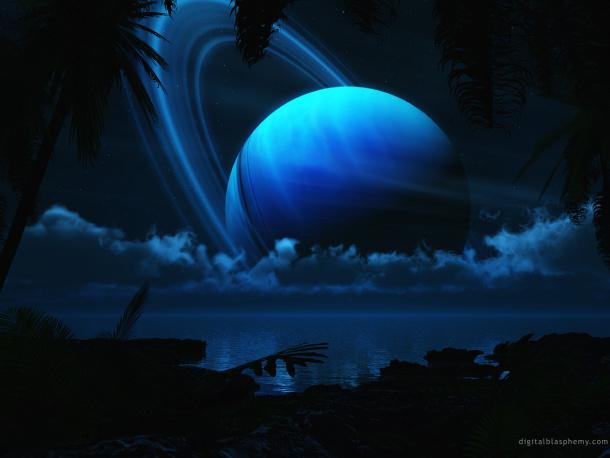 Het verband tussen Saturnus, chakra's en de pijnappelklier