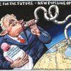 De chaos in het Midden-Oosten en het zwartmaken van Rusland heeft alles te maken met gas