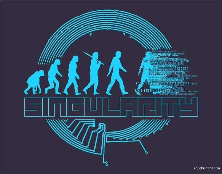 Angst voor singulariteit en samensmelting met AI?