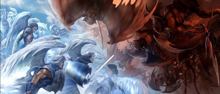 Engelen versus Demonen